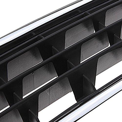 REFURBISHHOUSE Reja del radiador de Cromo Centro de Parachoques Delantero para Audi A4 B6 Limousine 02-05