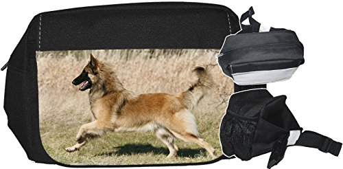 +++ TERVUEREN Belgischer Schäferhund - GÜRTELTASCHE Bauchtasche Futterbeutel HÜFTTASCHE Tasche - TRV 02