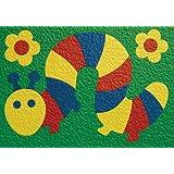 Lauri Crepe Rubber Puzzle - Caterpillar