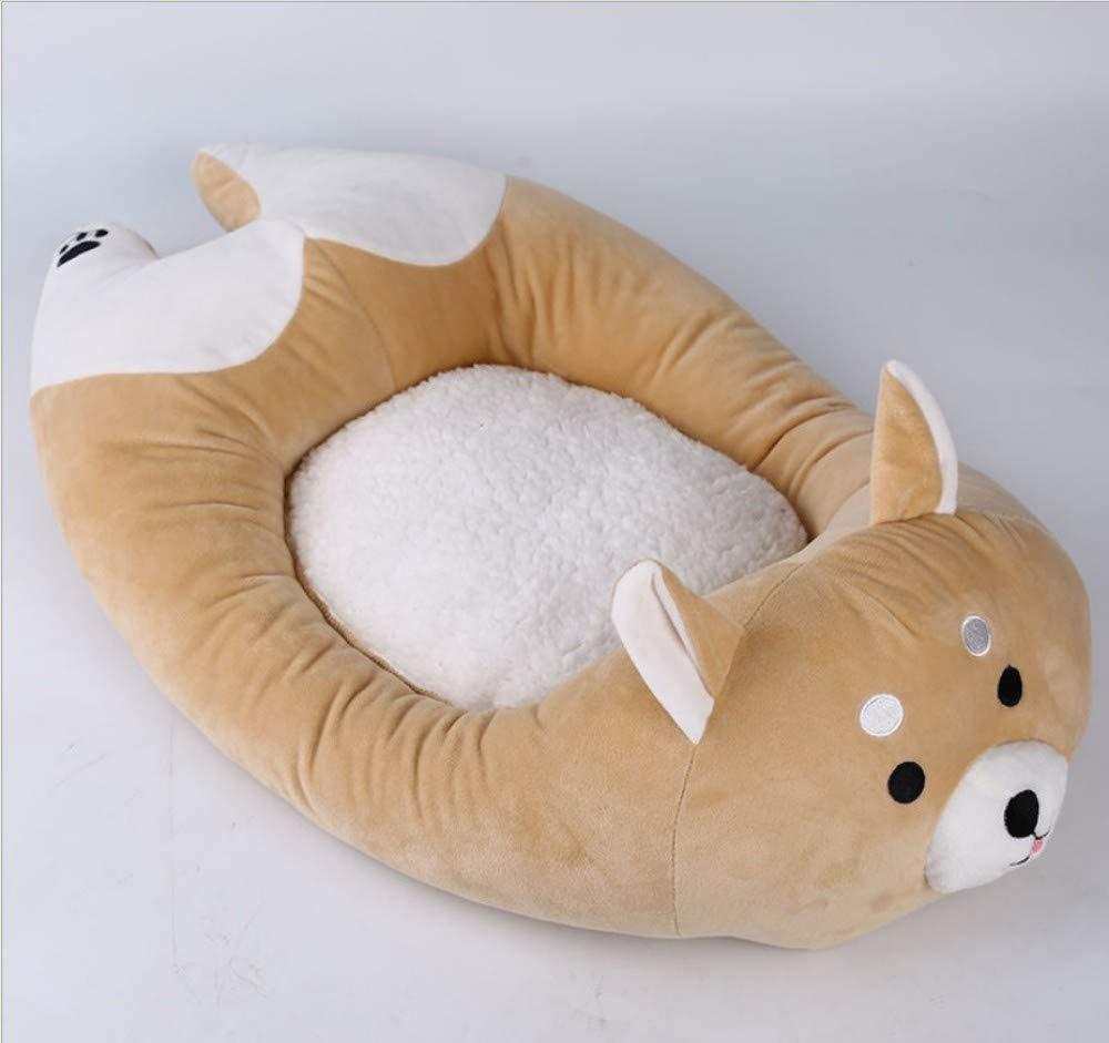 A 73X40X8CM A 73X40X8CM GZDXHN Dog House Creative Dog Mat Small Dog Four Seasons Universal Cat Nest Dog Pad Pet Nest E
