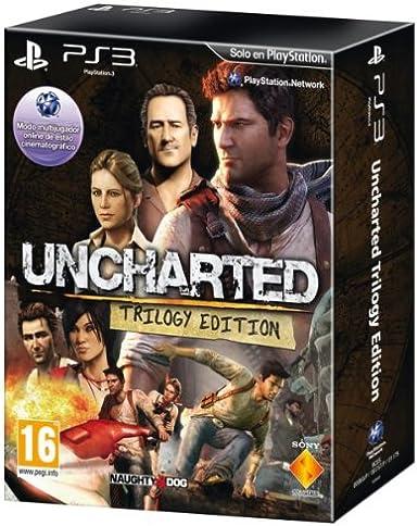 Uncharted - Trilogy Edition: Amazon.es: Videojuegos