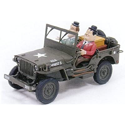 2001 Gate 1:32 Laurel & Hardy In Jeep Adventures: Home Audio & Theater