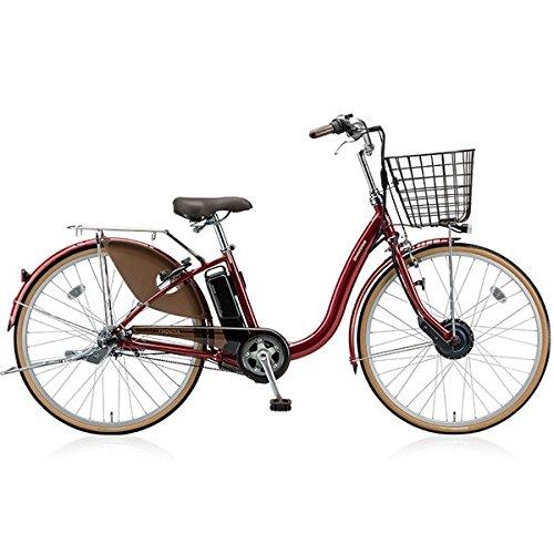 ブリヂストン(BRIDGESTONE) 18年モデル フロンティア F4AB28 24インチ 電動アシスト自転車 専用充電器付 B076S8LCVN F.Xベルベットローズ F.Xベルベットローズ