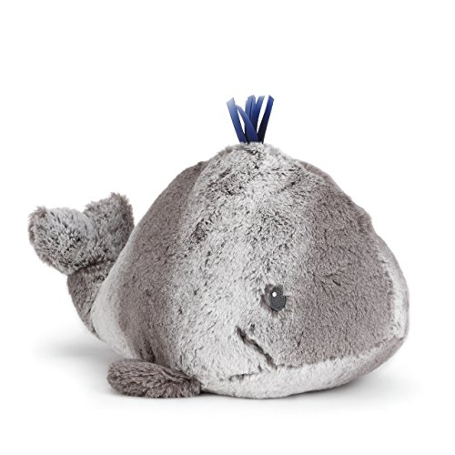 - Nat and Jules Smiling Wylie Whale Soft Gray Children's Plush Stuffed Animal