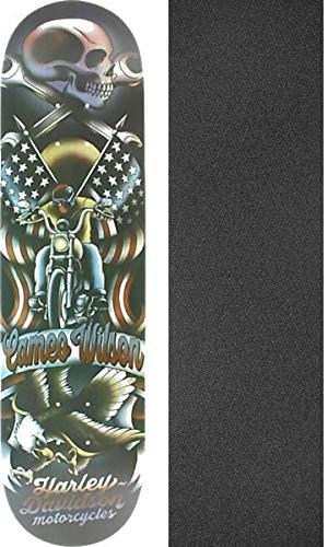 Darkstar Skateboards Cameo Wilson Tradition Harley Davidson Skateboard Deck - 8