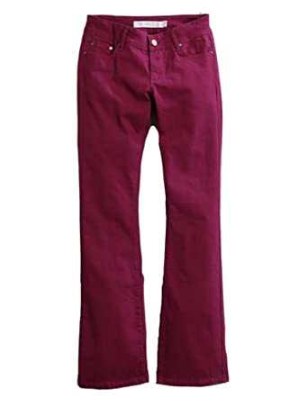 a437920b2ad Tin Haul Women's Dolly Celebrity Colored Denim Bootcut Jeans Purple ...