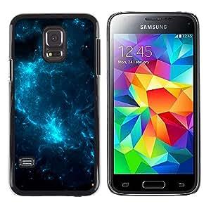 Eléctricos aligeramiento Cielos - Metal de aluminio y de plástico duro Caja del teléfono - Negro - Samsung Galaxy S5 Mini (Not S5), SM-G800