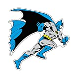 Fan Emblems Batman Character Car Decal Domed Multicolor Clear - Classic DC Comics Automotive Emblem Sticker Applies Easily to Cars - Trucks - Motorcycles - Laptops - Windows - Almost Anything