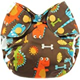 Blueberry Simplex All in One Diapers, Dino Party, Newborn (Discontinued by Manufacturer)