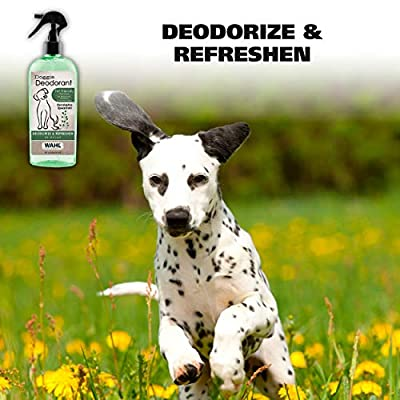WAHL-Deodorizing-Refreshing-Pet-Deodorant-for-Dogs-Eucalyptus-Spearmint-for-Coat-Shine-Strengthening