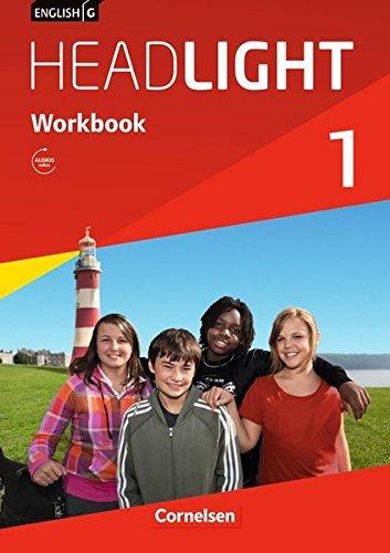 English G Headlight - Allgemeine Ausgabe / Band 1: 5. Schuljahr - Workbook mit Audio-Materialien