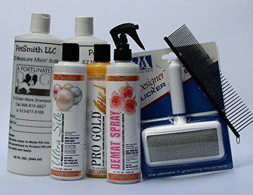 Tibetan Terrier Coat Care Grooming Kit FREE BONUS
