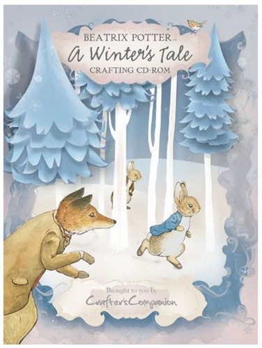 - Beatrix Potter A Winter's Tale Crafting CD-Rom Backing Papers Envelopes Note Papers Inserts Tea Bag Papers Borders More