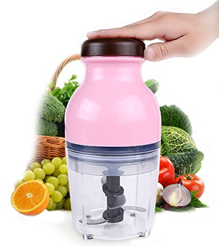 JANOSENO Mini Food Processor Electric Multipurpose Food Chopper, Blender and Mincer for Fruit Vegetable and Meat