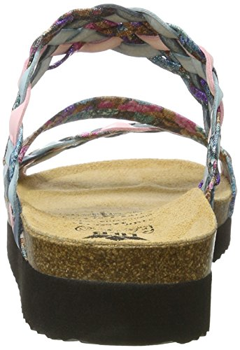Lico Natural Trend S - pantuflas con forro Mujer Türkis (TUERKIS/ROSA)