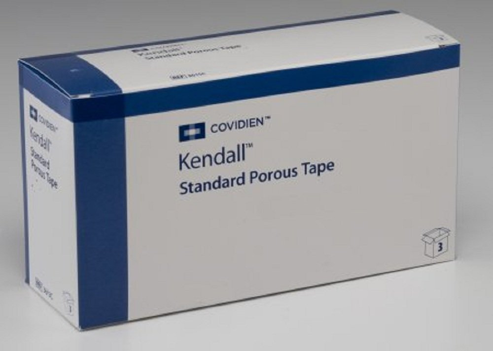 Kendall - Medical Tape Kendall - Porous Cloth 3 Inch X 10 Yard White NonSterile - 48/Case - McK
