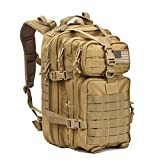 Tactical Backpack - Military Tactical Assault Pack Backpack Army Molle Bug Out Bag Backpacks Small Rucksack for Outdoor Hiking Camping Trekking Hunting Brown