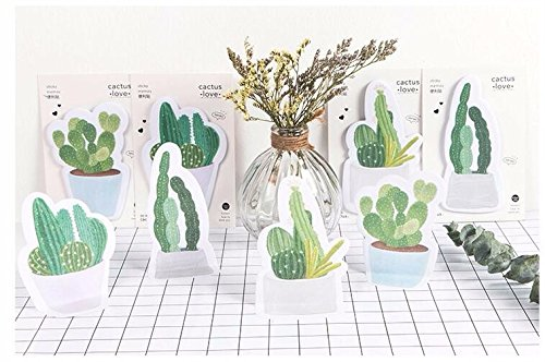 Modern Nerd Costume (30 pages/pack 4 Pcs Fresh Cactus Love Memo Pad Sticky Notes Memo Notebook Stationery Papelaria Escolar School Supplies)