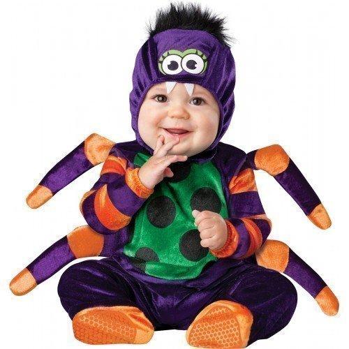 Fancy Me Deluxe Baby Jungen Mädchen Itsy Bitsy Spinne Büchertag Halloween Charakter Kostüm Kleid Outfit