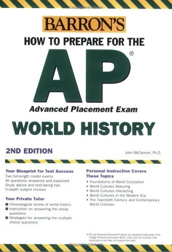How to Prepare for the AP World History 2007-2008 (BARRON'S HOW TO PREPARE)