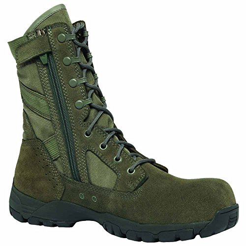 Belleville Flyweight Ultra Lightweight Side-Zip Composite Toe Garrison Boot TR696ZCT - Sage Green CT085R