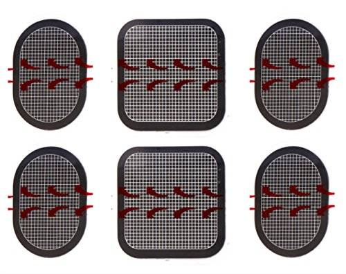 gel pads for flex belt - 6