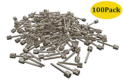 (Senker 100 PCs Ball Pump Needles - Inflation Needles Ball Inflating Air Pump Needle for Sports Football/Basketball/Soccer/Gym)