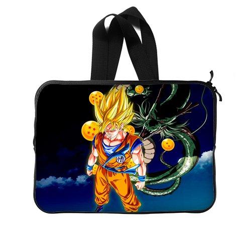 Anime Dragon Ball Goku de bola de dragón y Shenron – Funda para portátil de 13