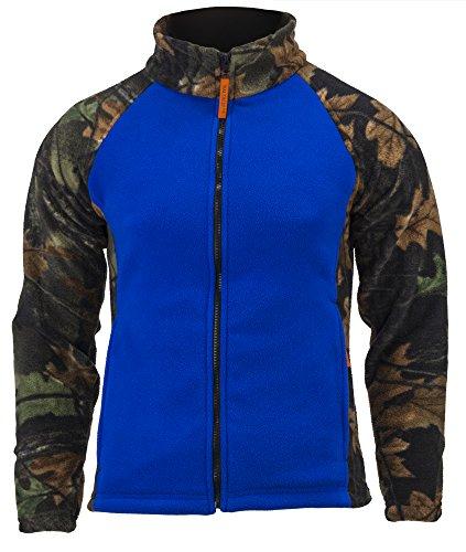 TrailCrest Women's Camo Chambliss Semi Fitted Jacket, Dazzle Blue, Small