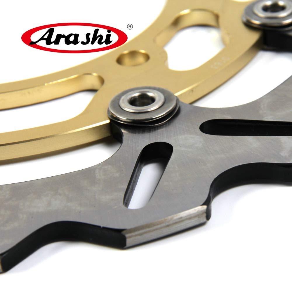 GSF1200 BANDIT 2006 Motorcycle Accessories DL 1000 GSF 1200 BANDIT1200 Gold 06 14 15 Arashi Front Brake Disc Rotor for Suzuki V-STROM DL1000 ABS 2014 2015