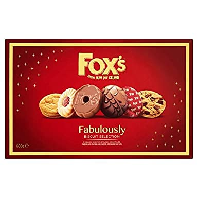 Fox S Fabulously Biscuit Selection Box 600g