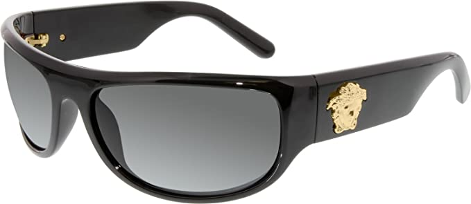 Versace Gafas de sol VE 4276 GB1/87 negro 63MM: Amazon.es ...
