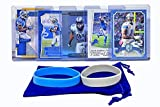 Calvin Johnson Football Cards (5) Assorted Bundle - Detroit Lions Trading Card Gift Set