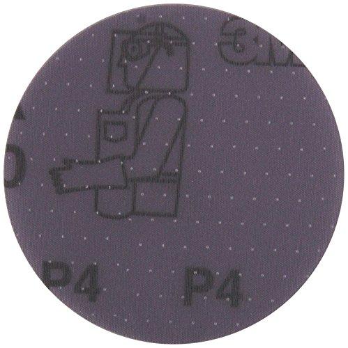 "3M 02094 Trizact Hookit 3/"" P1500 Grit Clear Coat Sanding Disc"