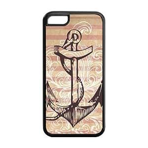 Custom Anchor Hard Protective Back Cover Case for iPhone 5C wangjiang maoyi