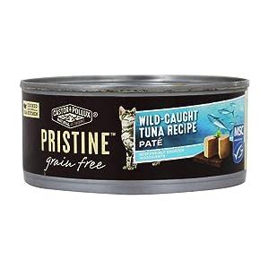 CASTOR & POLLUX Cat Food Tuna Wild Caught Grain Free, 6 OZ