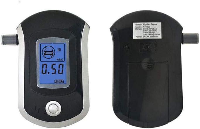 QBCYQ Atemtestger/ät Tragbares Mini-Digitaldisplay Atemalkohol-Testger/ät Kompakt Und Leicht
