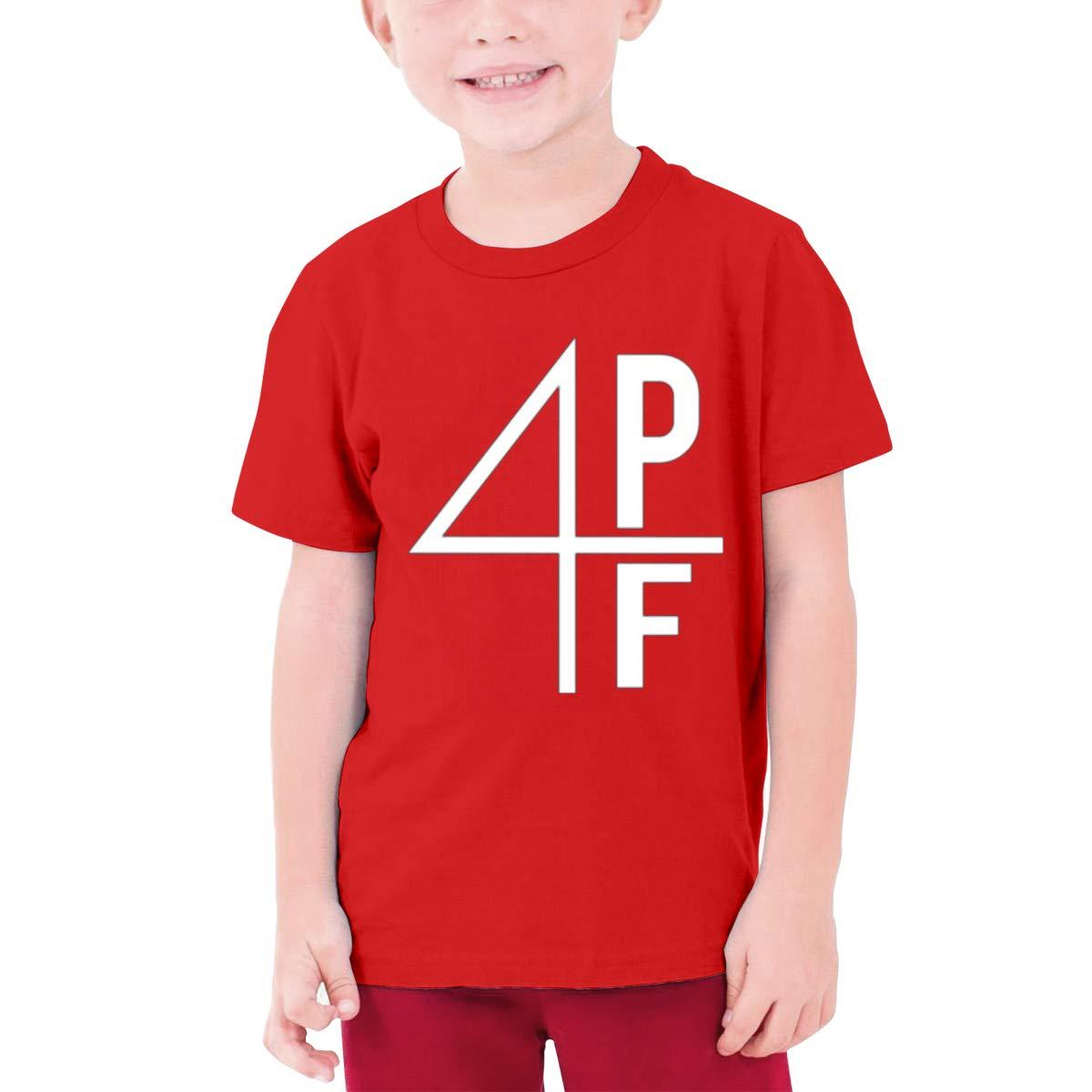 Teenage Lil Baby 4pf Round Neck Tshirtnovelty Short Sleeves Tee Red