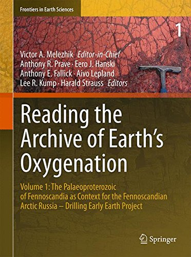 Reading the Archive of Earth's Oxygenation: Volume 1: The Palaeoproterozoic of Fennoscandia as Context for the Fennoscan