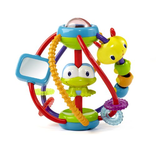 51PAm0DiLuL - Bright Starts Clack and Slide Activity Ball