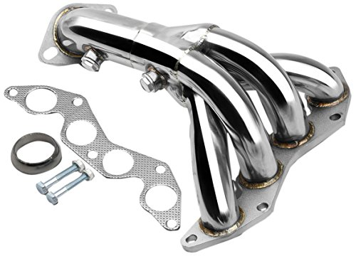 Honda Exhaust Header - DNA motoring HDS-HC01DX Stainless Steel Exhaust Header Manifold