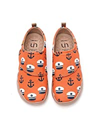 UIN Toddler Baby Little Kid Fish Shoes Colorful Painted Art Funny Walking Casual Fashion Sneakers Loafers Sea The Word