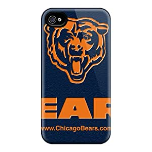 LauraAdamicska Iphone 6 Perfect Hard Cell-phone Cases Allow Personal Design High-definition Chicago Bears Pictures [XDF8532PDVH]