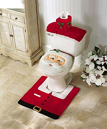 Ohuhu Santa Toilet Cover Paper