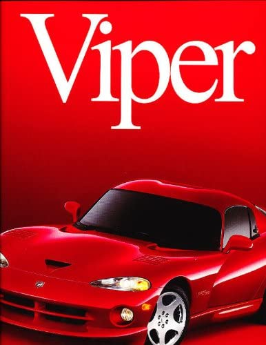 GTS ACR RT RT//10 2000 Dodge Viper 30-Page Original Sales Brochure Book
