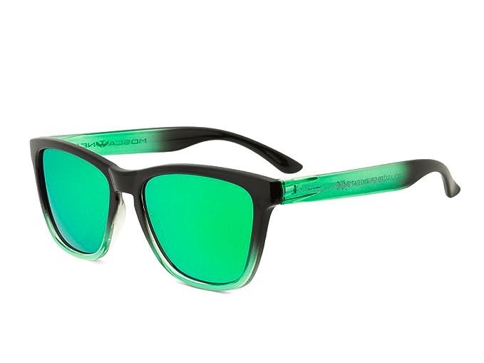 Gafas de sol MOSCA NEGRA modelo ALPHA SUNSET Green - Polarizadas - TR90