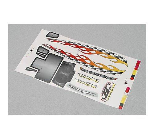 Team Losi Mini-T Sticker Sheet   B000BODL0Q