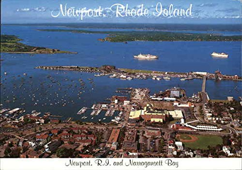 Newport, R. I. and Narragansett Bay Newport, Rhode Island Original Vintage Postcard (Postcard Island)