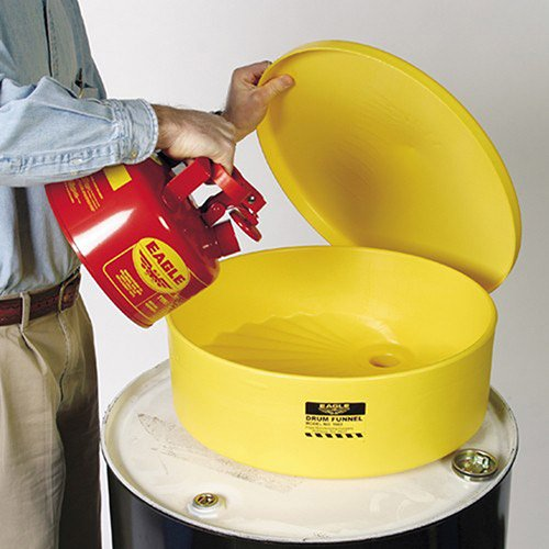 """Eagle Side-Wall Poly Funnel - 18"""" Diameter Top Opening"""