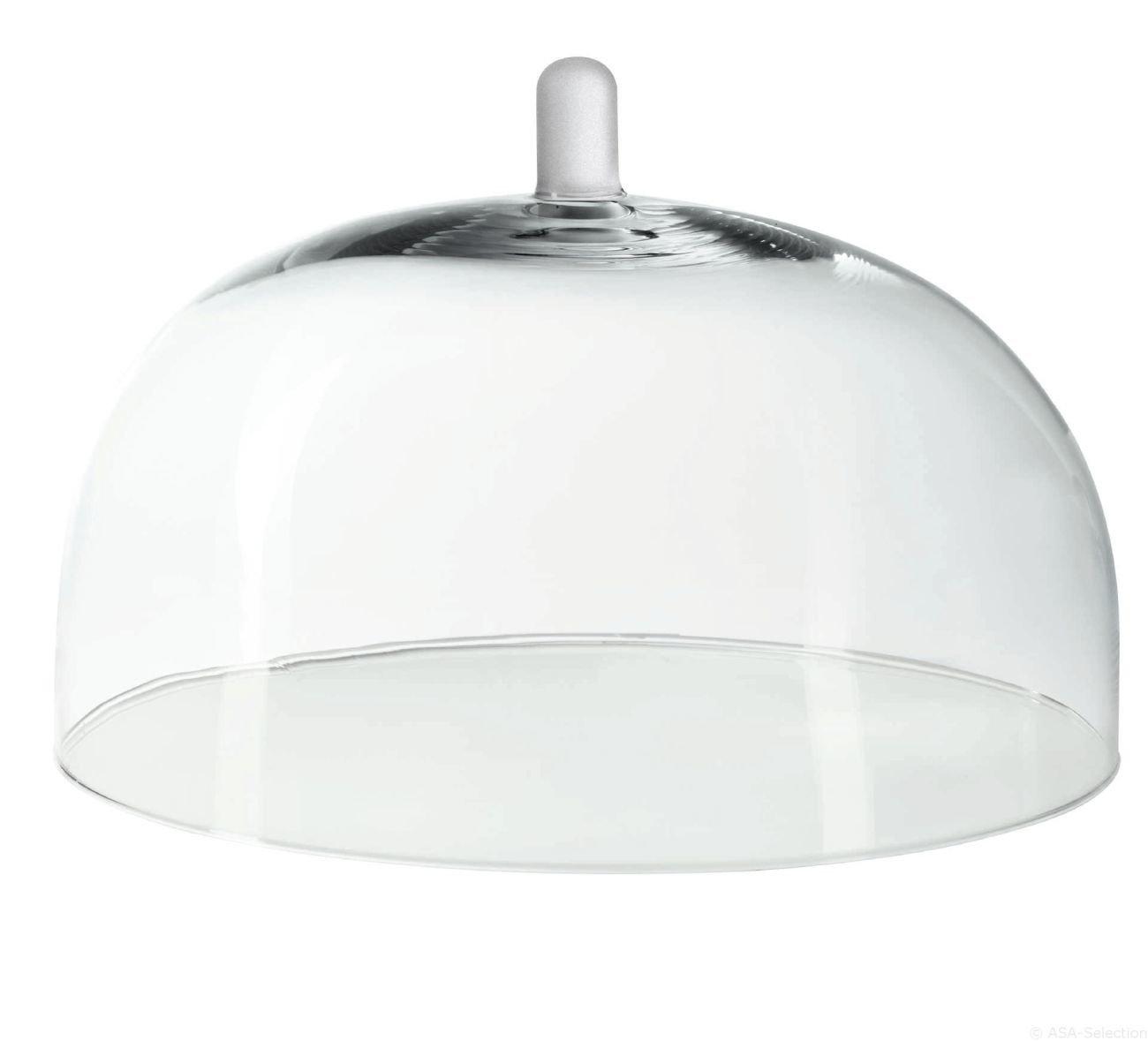 ASA 5318009Grande Glass Cake Dome Glass 28x 28x 20cm